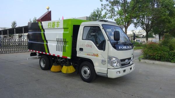 福田扫路车(0.5方水1.6垃圾)