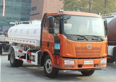 解放J6国Ⅳ洒水车(7-12吨)